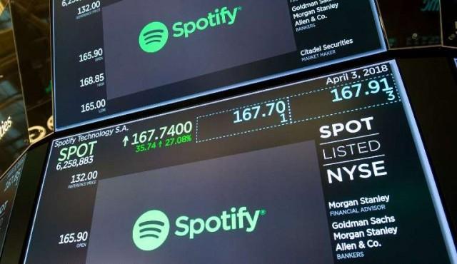 Spotify debutó en Wall Street