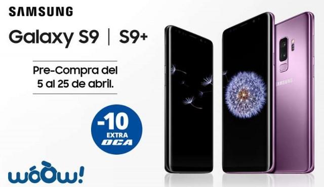 Comienza la pre-venta del nuevo Samsung Galaxy S9 en woOw!