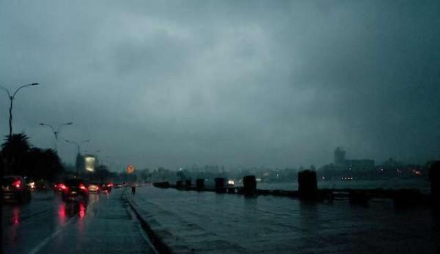 Inumet emitió advertencia por tormentas fuertes