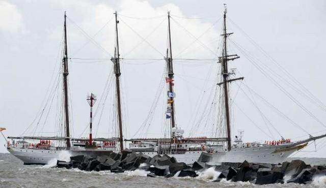 Grandes veleros de hispanoamérica se dan cita en Montevideo
