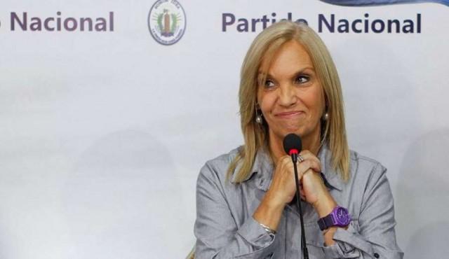 """Argimón agradeció a Lacalle Pou, el """"varón político"""" que decidió que una mujer sea presidenta del PN"""