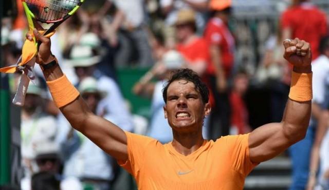 Rafa Nadal jugará su duodécima final en Montecarlo