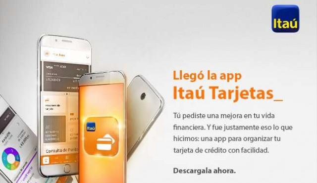 Itaú lanza su App Tarjetas y se consolida como banco digital