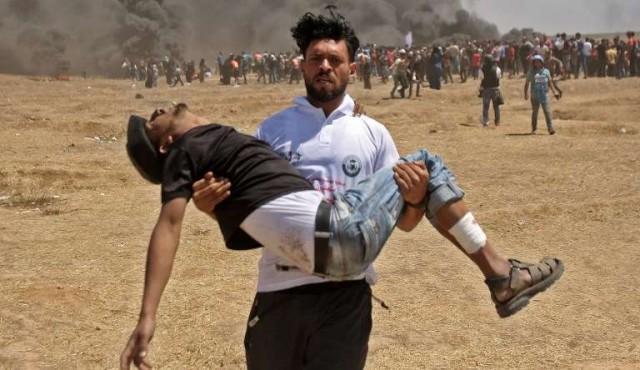 """Abas denuncia """"masacre"""" israelí en Gaza y rechaza toda mediación de EE.UU"""