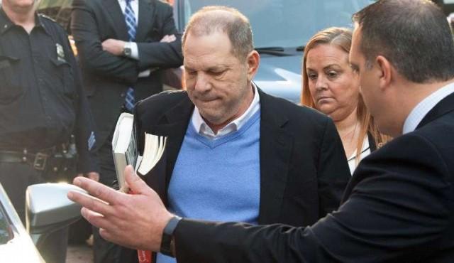 Weinstein inculpado en Nueva York por violación y delitos sexuales