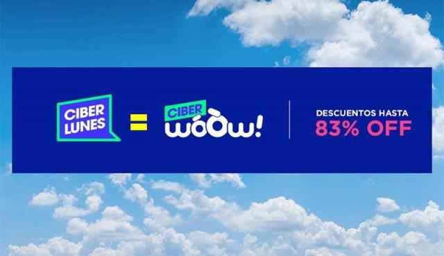 WoOw! se suma a una nueva edición de Ciberlunes con descuentos de hasta un 83%