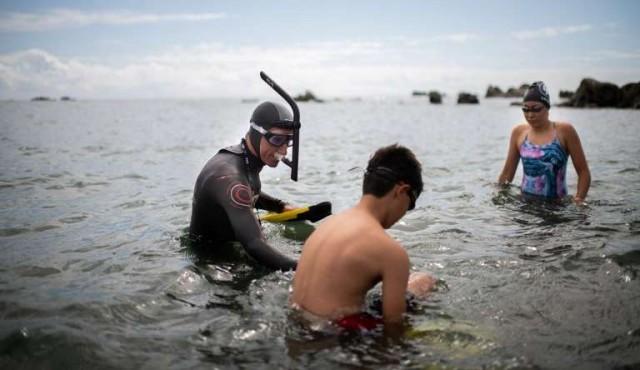 De Japón a San Francisco, una travesía en nado