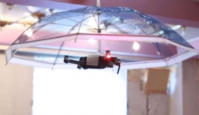 Japón comenzará a comercializar un dron-sombrilla