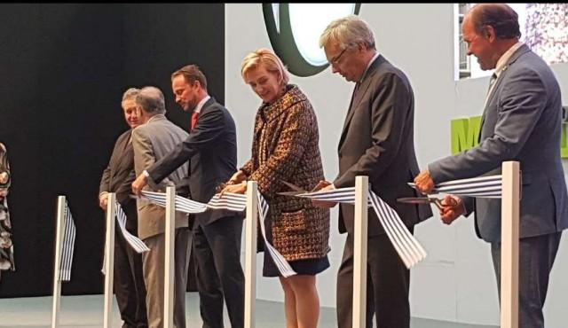 Uruguay Logístico: Misión Comercial de Bélgica participó de la inauguración de millonaria inversión en Polo Oeste