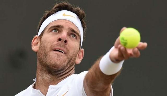 Del Potro ante Nadal en cuartos de final de Wimbledon