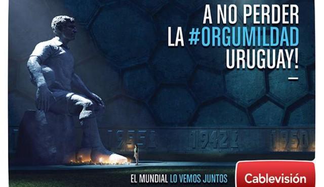 Cablevisión vive el Mundial con #ORGUMILDAD