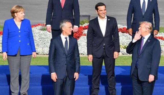 Trump urgió a los aliados de la OTAN a duplicar su compromiso en gasto militar