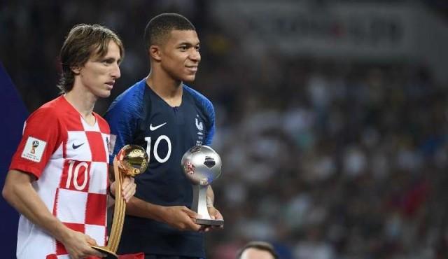 Modric se quedó con el Balón de Oro; Mbappé fue el mejor jugador joven
