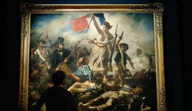 Exposición de Delacroix, la más visitada de la historia del museo del Louvre