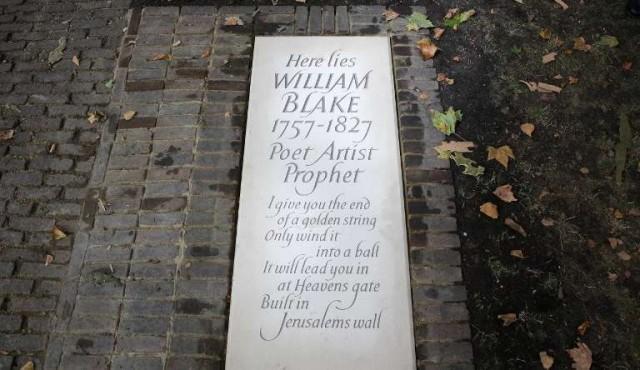 Admiradores del poeta y pintor William Blake hallaron su tumba en Londres