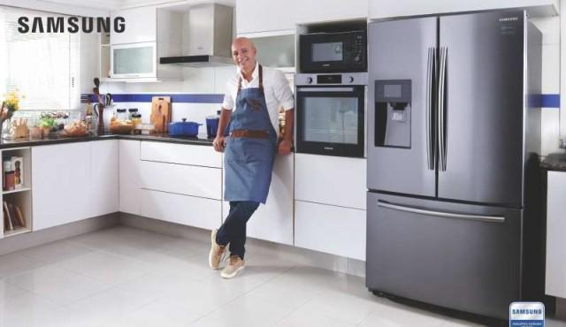 """Samsung presenta su nueva """"Colección del Chef"""" de la mano de Hugo Soca"""
