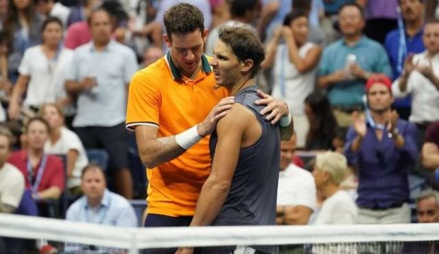 Nadal abandona por lesión y Del Potro está en la final del US Open