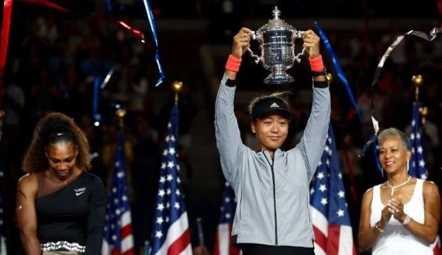 Naomi Osaka gana el US Open, Serena Williams pierde los papeles