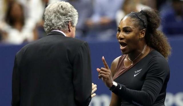 Serena, multada con 17.000 dólares; la WTA la apoya y denuncia doble criterio