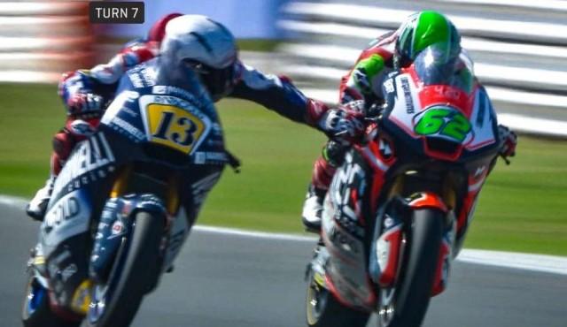 Fenati, piloto de Moto2, fue despedido por accionar el freno de un rival a 217 km/h