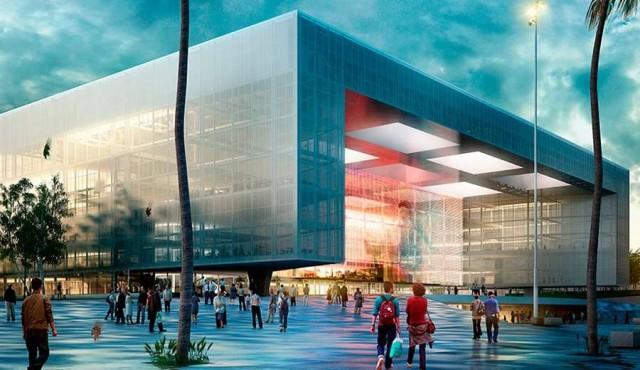 Inauguración del Antel Arena será el 12 de noviembre