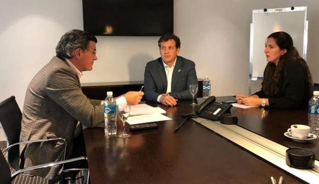 Domínguez se reunió con Bordaberry en la AUF