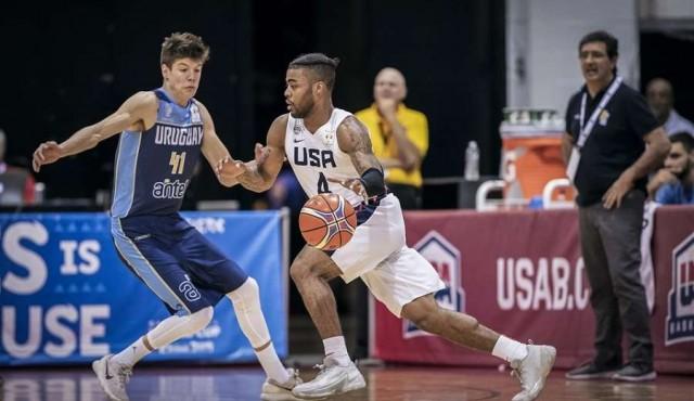 Uruguay perdió 114-57 ante Estados Unidos
