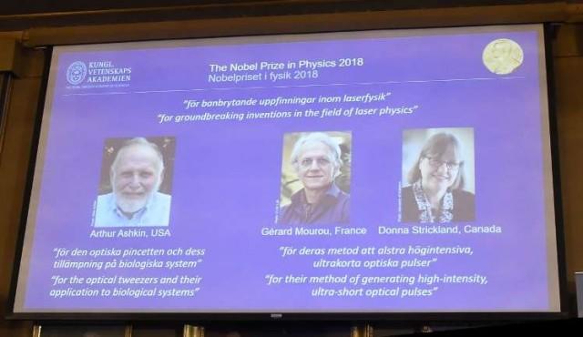 "Nobel de física a investigadores que ""revolucionaron"" el uso del láser"