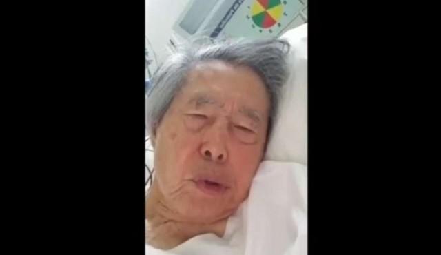 """Fujimori dice que si vuelve a prisión será """"una condena a muerte"""""""