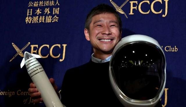 """Japonés que irá a la luna en la nave SpaceX no espera un entrenamiento """"muy duro"""""""