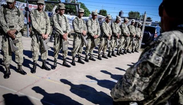 Fuerzas Armadas vigilarán la frontera