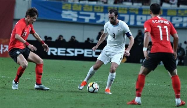 Uruguay perdió 2-1 ante Corea en Seúl