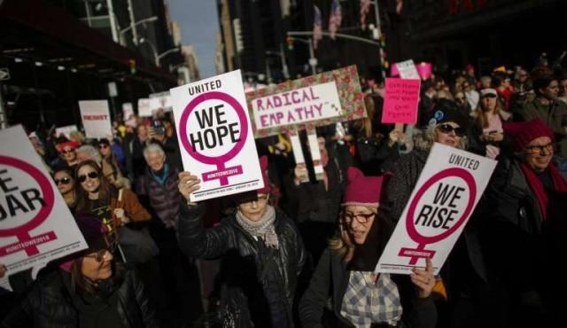 """Miles marcharán en Chicago contra la agenda """"antimujeres"""" de Trump"""