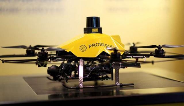 Prosegur incorporó nuevo servicio de vigilancia con drones