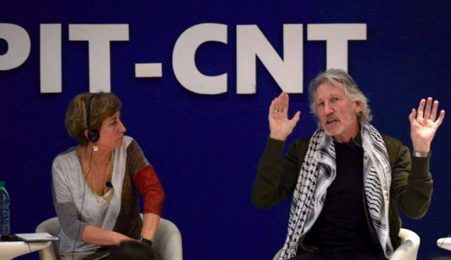 """Roger Waters llamó """"neofascistas"""" a Trump y Bolsonaro y criticó a Israel"""