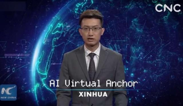 Los robots virtuales presentan los informativos en China