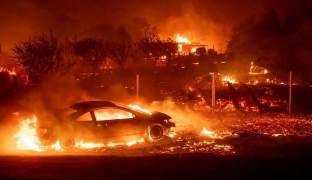 Incendio en el norte de California, miles de evacuados