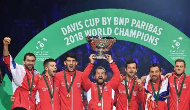 Croacia ganó la Copa Davis al imponerse 3-1 a Francia