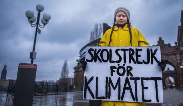 Una adolescente sueca lleva su cruzada contra el cambio climático a la COP24