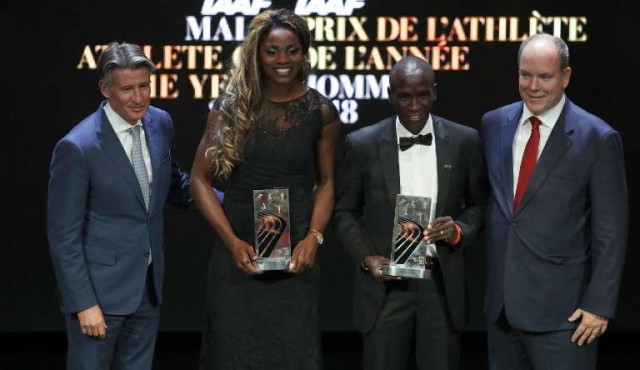 Caterine Ibargüen y Eliud Kipchoge, mejores atletas del año para la IAAF