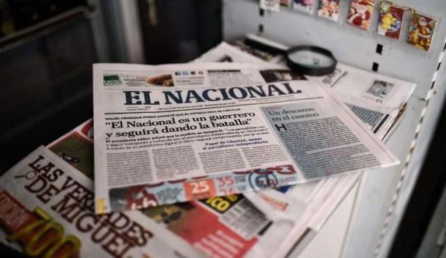 Histórico diario venezolano El Nacional sale de circulación ahogado en dificultades