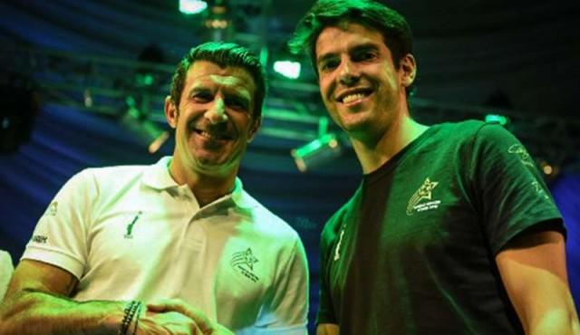 Figo y Kaká al rescate del fútbol en Pakistán, un país loco por el críquet
