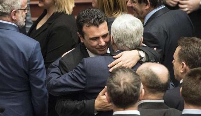Acuerdo histórico en Macedonia sobre el cambio de nombre del país