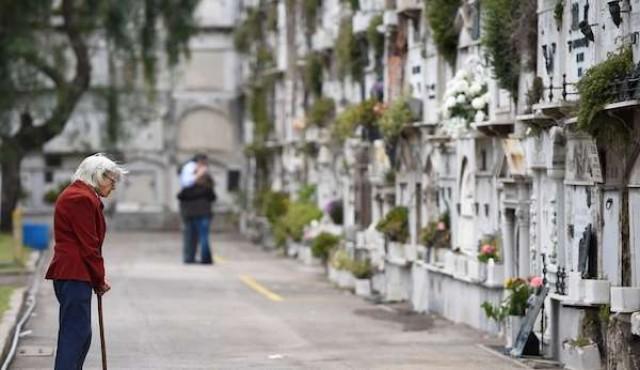 Cementerio Central estará cerrado hasta el martes por derrumbe de un muro