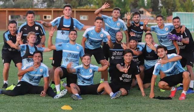 Uruguay debuta en el Sudamericano Sub20
