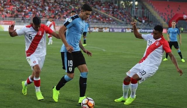 Sub20: Uruguay perdió con Perú en el debut