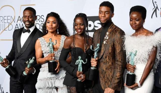 Black Panther, Glenn Close y Rami Malek, ganadores de los premios SAG