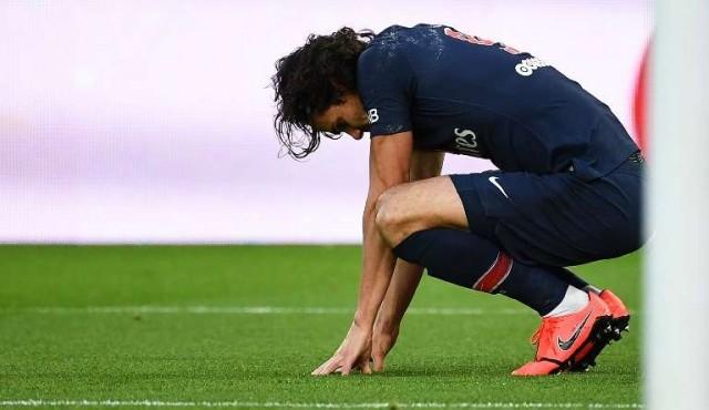 Cavani se pierde por lesión el partido contra el Manchester United