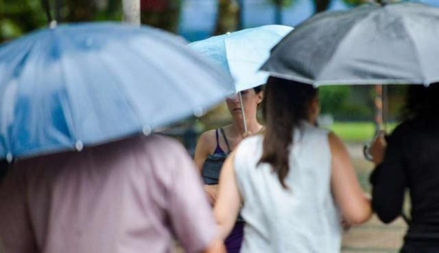 Aviso de Inumet por lluvias fuertes