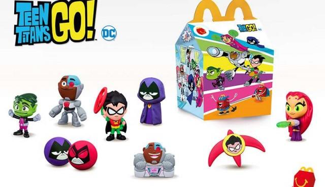 McDonald's renueva sus opciones de entretenimiento con divertidas colecciones de libros y juguetes